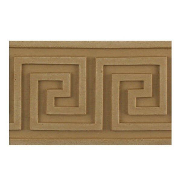 "Where to Buy 2-5/8""(H) x 1/4""(Relief) - Stain-Grade Greek Key Linear Molding Design - [Compo Material]"