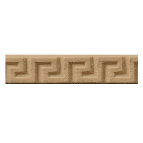 "Where to Buy 5/16""(H) x 1/8""(Relief) - Classic Greek Key Linear Molding Design - [Compo Material]"