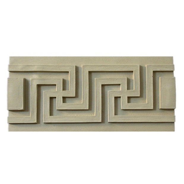 "Where to Buy 4-3/4""(H) x 5/8""(Relief) - Classic Greek Key Linear Molding Design - [Compo Material]"