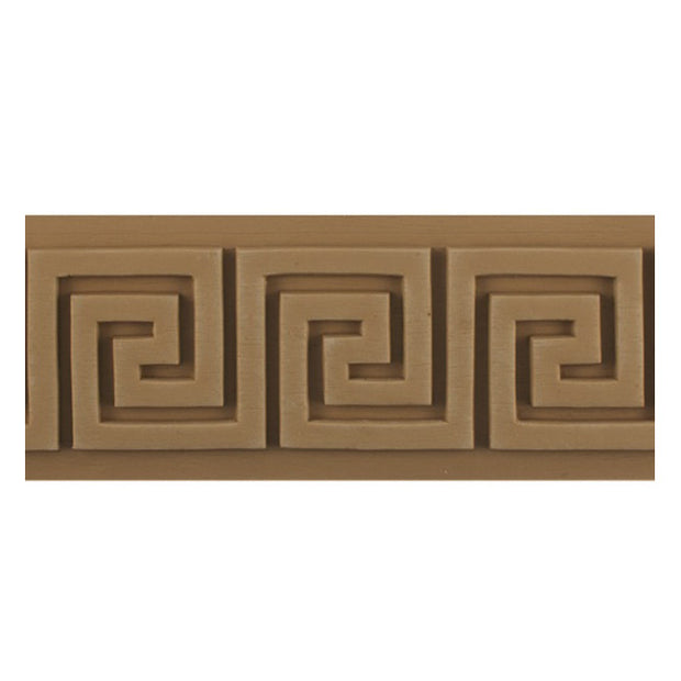 "Where to Buy 3-1/2""(H) x 5/16""(Relief) - Classic Greek Key Linear Molding Design - [Compo Material]"