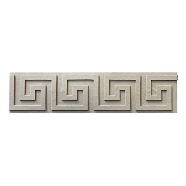 "Where to Buy 3""(H) x 3/16""(Relief) - Stain-Grade Classic Greek Key Linear Molding Design - [Compo Material]"