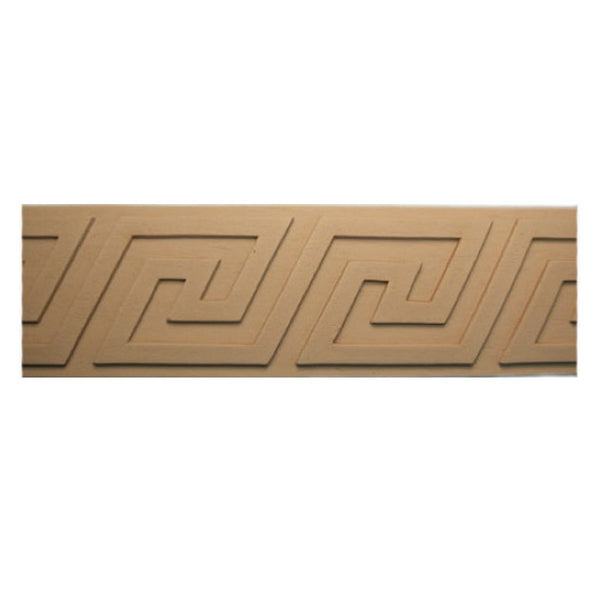 "Where to Buy 3""(H) x 3/16""(Relief) - Interior Classic Greek Key Linear Molding Design - [Compo Material]"