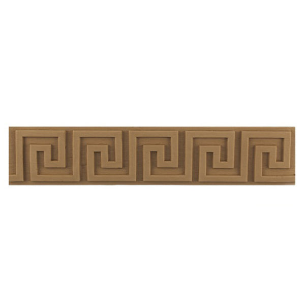 "Where to Buy 2-7/16""(H) x 3/16""(Relief) - Classic Style Greek Key Linear Molding Design - [Compo Material]"