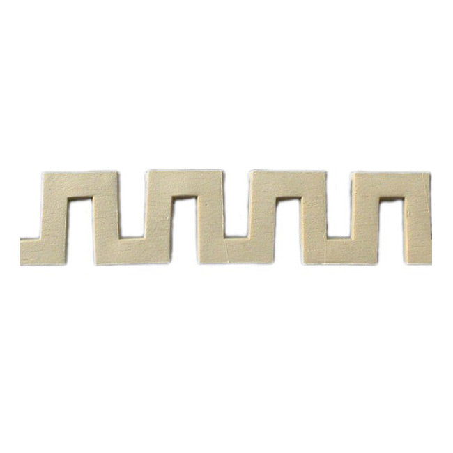 "Where to Buy 1-13/16""(H) x 3/8""(Relief) - Classic Style Greek Key Linear Molding Design - [Compo Material]"