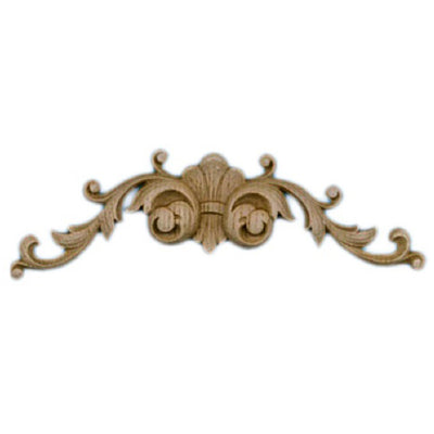 "Shop Beautiful 6-3/8""(W) x 1-1/2""(H) x 1/4""(Relief) - Renaissance Scroll Horizontal Design - [Compo Material]-HRZ-5567-CP-2"