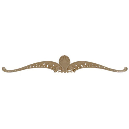"Shop Beautiful 50-3/4""(W) x 7-1/4""(H) x 7/8""(Relief) - Louis XV Decorative Horizontal Design - [Compo Material]-HRZ-9577-CP-2"