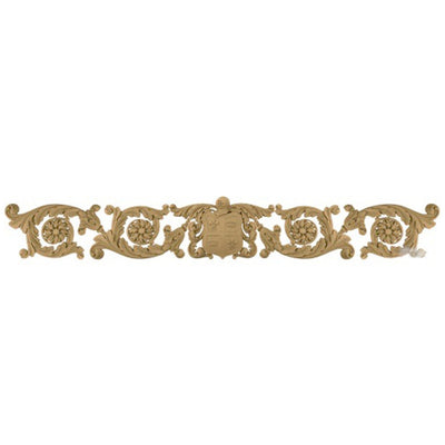 "Shop Beautiful 51""(W) x 7-1/4""(H) x 3/8""(Relief) - English Style Horizontal Design - [Compo Material]-HRZ-2677-CP-2"