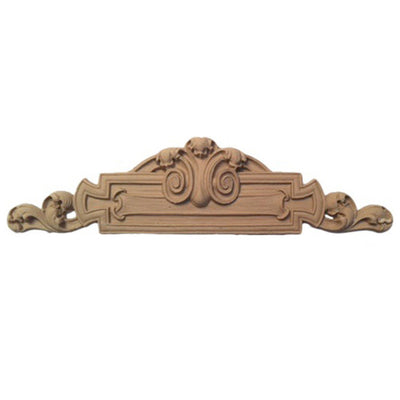 "Shop Beautiful 8-7/8""(W) x 2-1/4""(H) - Decorative Classic Style Horizontal Design - [Compo Material]-HRZ-F4874-CP-2"