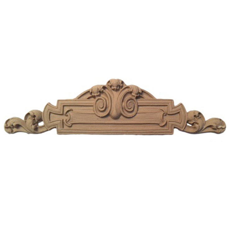 "Shop Beautiful 6-3/8""(W) x 1-5/8""(H) - Decorative Classic Style Horizontal Design - [Compo Material]-HRZ-F3874-CP-2"