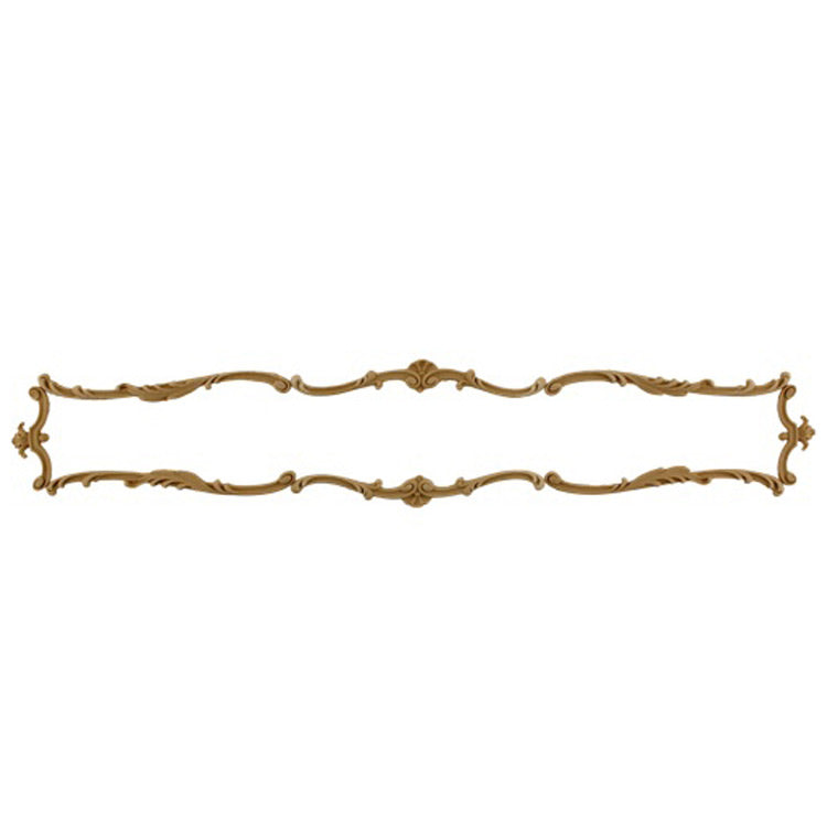 "Shop Beautiful 21-1/4""(W) x 3-5/8""(H) - Specialty Decorative Horizontal Design - [Compo Material]-HRZ-F0994-CP-2"
