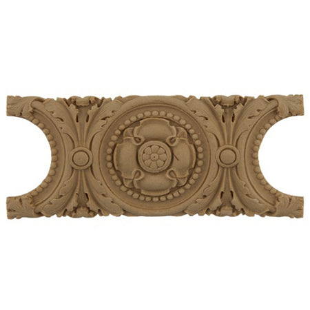"Shop Beautiful 6-3/4""(W) x 3""(H) - Stain-Grade Specialty Horizontal Design - [Compo Material]-HRZ-F2655-CP-2"