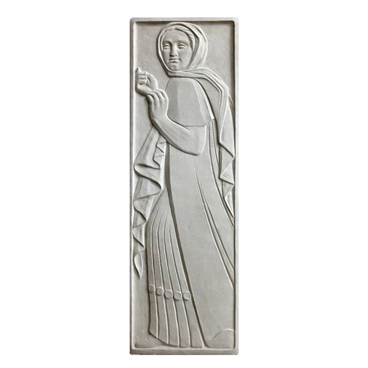 "12"" (W) x 36"" (H) x 3/4"" (Relief) - Art Deco Wall Panel - [Plaster Material] - Brockwell Incorporated"