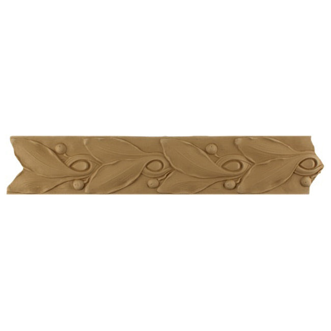 Decorative Leaf & Berries Compo Trim Molding and Millwork - MLD-55111-CP-2