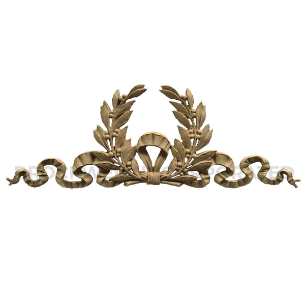 Classical Architectural Home Products - Ornate Resin Wreath Accent