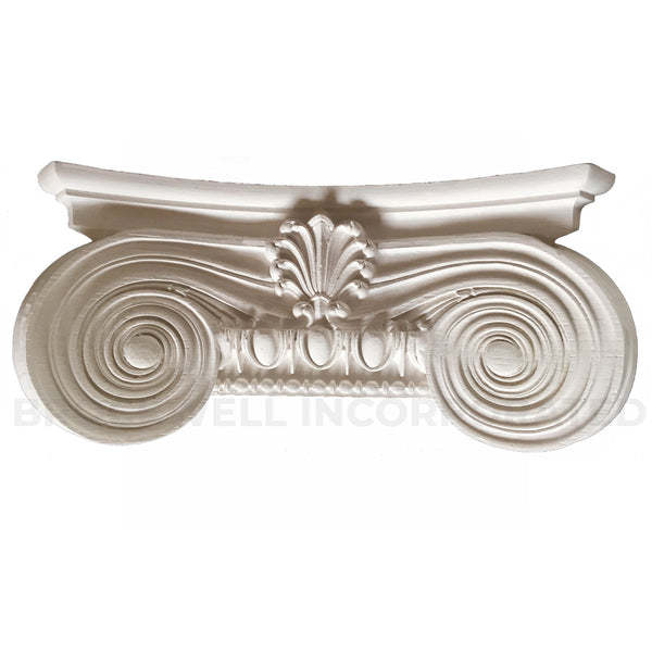 Brockwell Incorporated - Modern Empire (Ionic) Plaster Half Square Pilaster Capitals Design