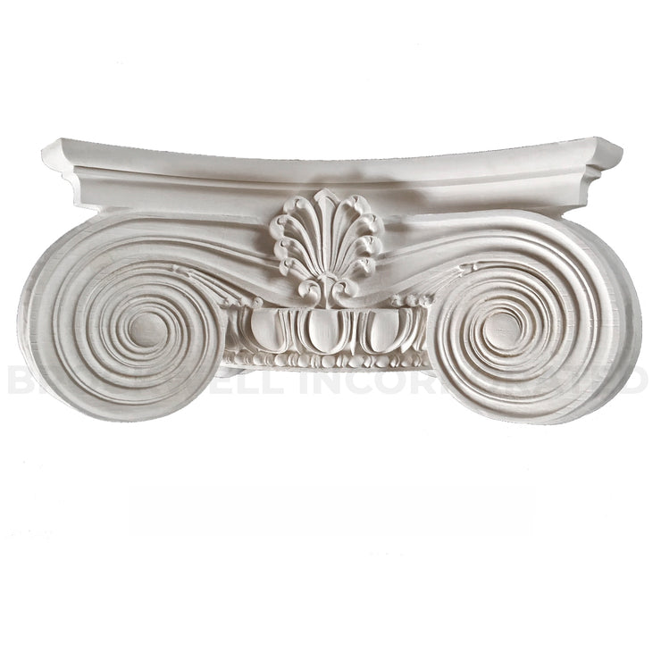 Round Plaster Capital - Modern Empire Ionic Cap from Brockwell Incorporated