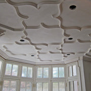 Easy to Install Plaster Ceiling Tracery, Open Gothic