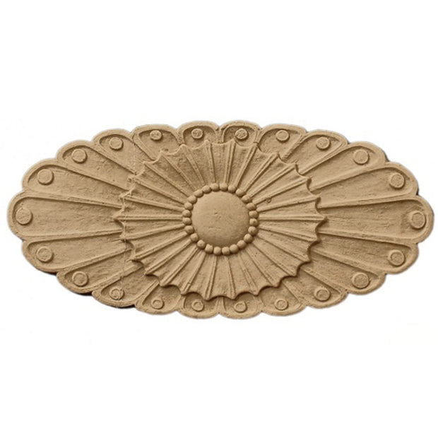 RST-05131-CP-2 - Order Rosettes Online - Oval Shape - Brockwell Incorporated