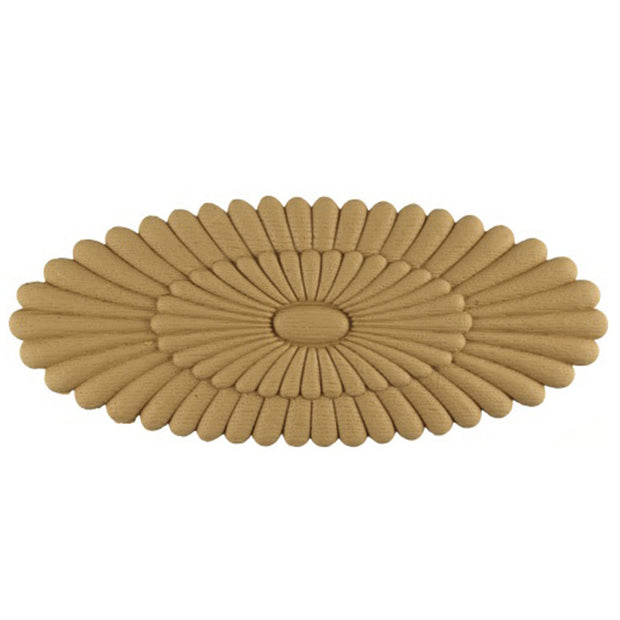 RST-4025-CP-2 - Order Rosettes Online - Oval Shape - Brockwell Incorporated