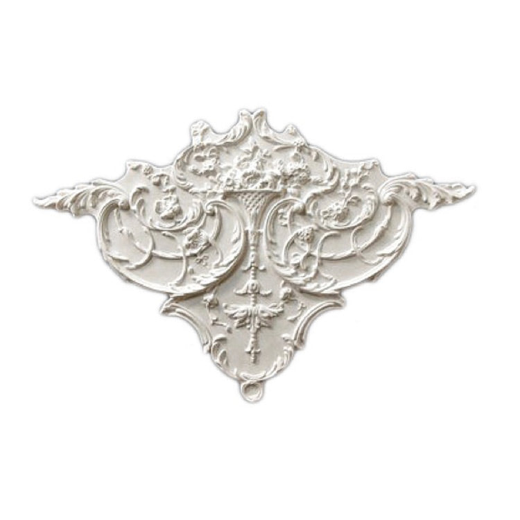"Easy to Install - 20"" (W) x 20"" (H) x 1"" (Relief) - Louis XV Style Corner Applique - [Plaster Material] from Brockwell Incorporated"