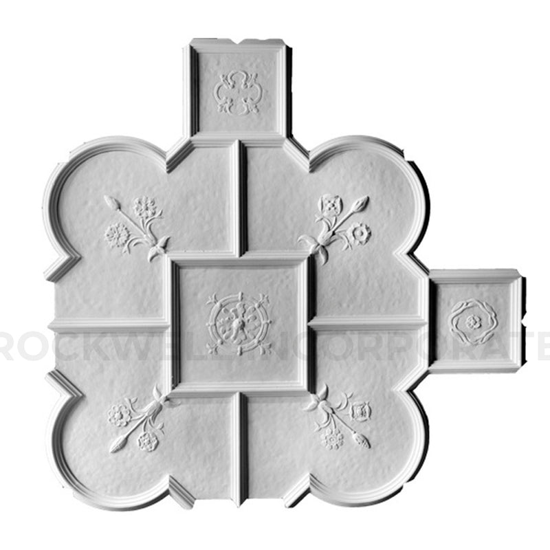 Buy Old English Style Plaster Ceiling Panels - ColumnsDirect.com
