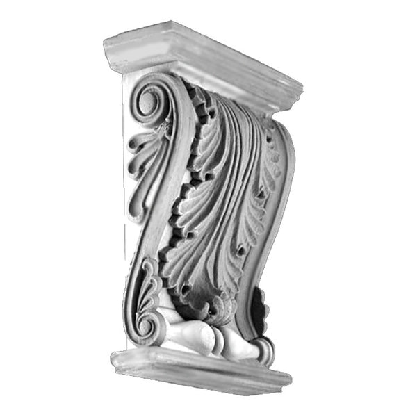 Plaster Corbels, Greek Zeus Trim Bracket Design