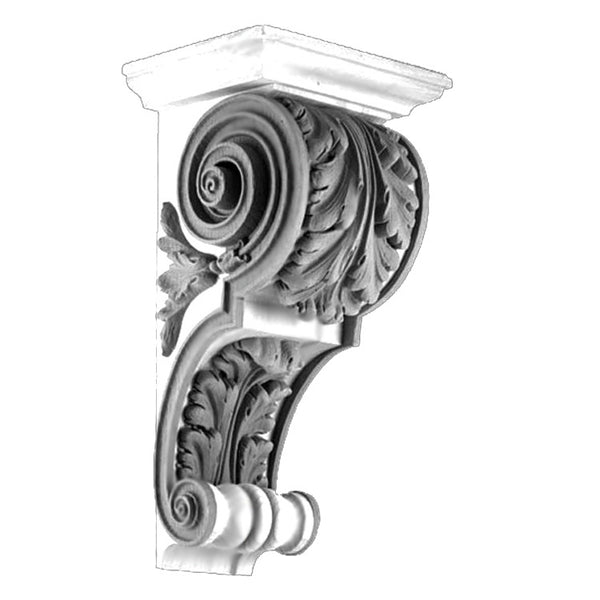 Item # CRB-2343P-PL-2 - Purchase Ornate Premium Plaster Corbels with Classical Details and Over 150 Years Old