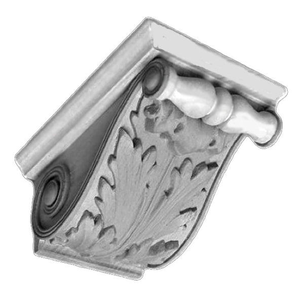 Item # CRB-0108P-PL-2 - Purchase Ornate Premium Plaster Corbels with Classical Details and Over 150 Years Old