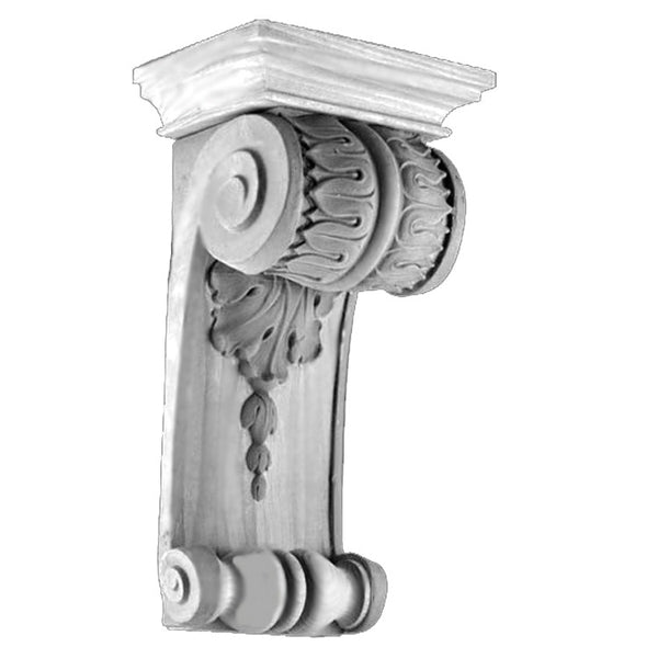 Item # CRB-5918P-PL-2 - Purchase Ornate Premium Plaster Corbels with Classical Details and Over 150 Years Old