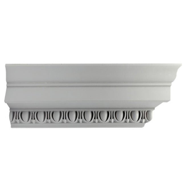 "4-3/4""(H) x 5""(Proj.) - Roman Ionic Crown Molding Design - [Plaster Material] - Brockwell Incorporated"