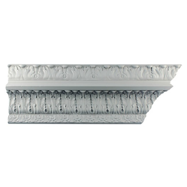 "5""(H) x 6-1/4""(Proj.) - Colonial Style Crown Molding Design - [Plaster Material] - Brockwell Incorporated"