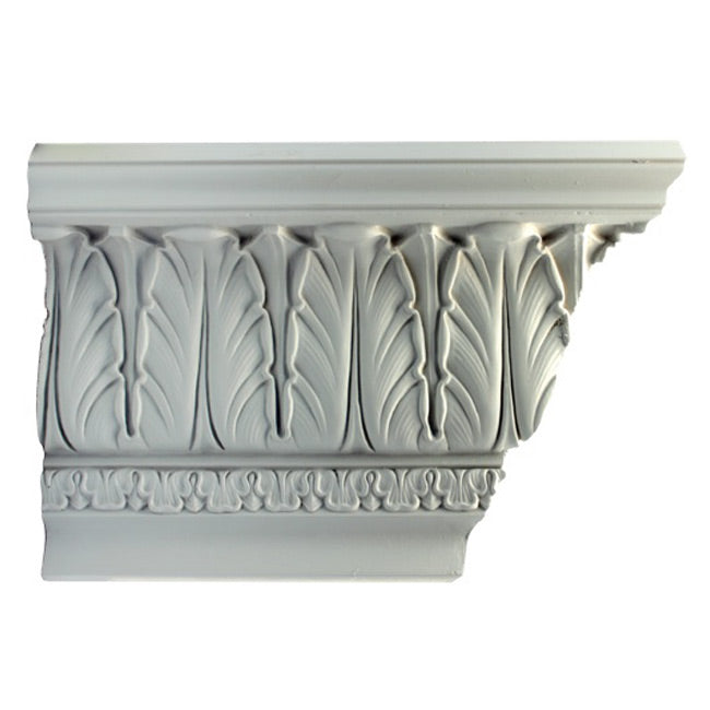 "9-1/4""(H) x 6-1/4""(Proj.) - Classic Style Crown Molding Design - [Plaster Material] - Brockwell Incorporated"