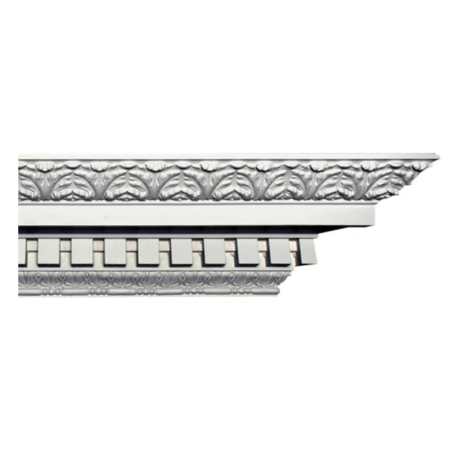 "5-1/2""(H) x 7-1/4""(Proj.) Colonial Crown Molding Design - [Plaster Material] - Brockwell Incorporated"