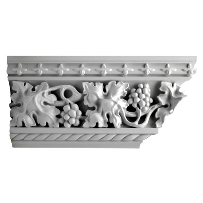 Gothic Style Crown Molding Design - [Plaster Material] - Brockwell Incorporated