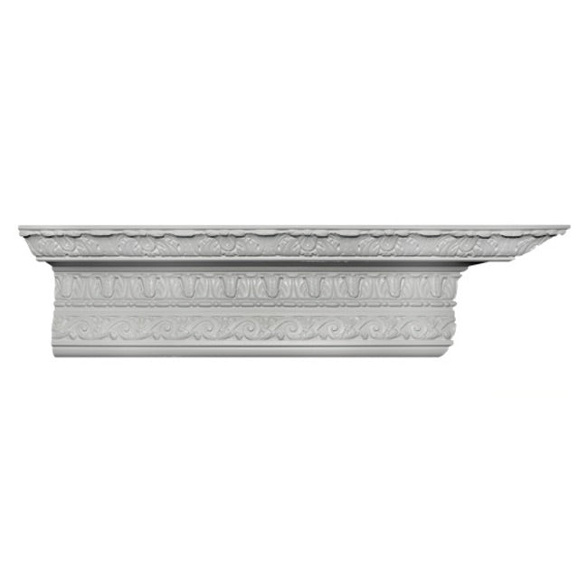 Renaissance Style Crown Molding Design - [Plaster Material] - Brockwell Incorporated