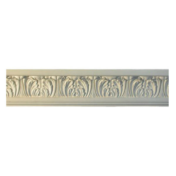 "3-1/4""(H) x 2-3/4""(Proj.) - Repeat: 3-1/4"" - Georgian Crown Molding Design - [Plaster Material] - Brockwell Incorporated"