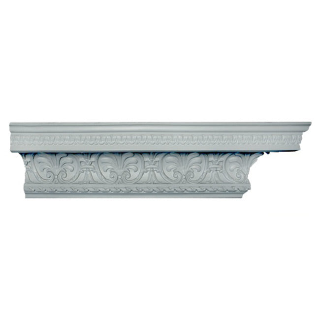 "6-1/2""(H) x 7""(Proj.) - Empire Style Crown Molding Design - [Plaster Material] - Brockwell Incorporated"