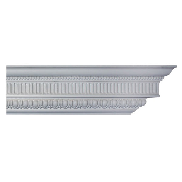 "4-3/4""(H) x 3""(Proj.) - Colonial Style Crown Molding Design - [Plaster Material] - Brockwell Incorporated"