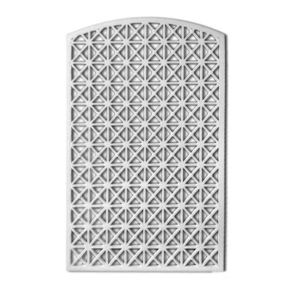 "43-3/4"" (W) x 68"" (H) x 5/8"" (Relief) - Classic Panel / Grille - (Open or Closed) - [Plaster Material]-Brockwell Incorporated"