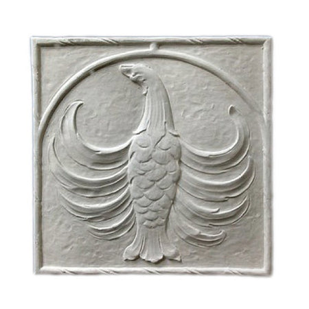 "18-1/4"" (W) x 18-1/4"" (H) x 1/2"" (Relief) - Old English Style Wall Panel - [Plaster Material] - Brockwell Incorporated"