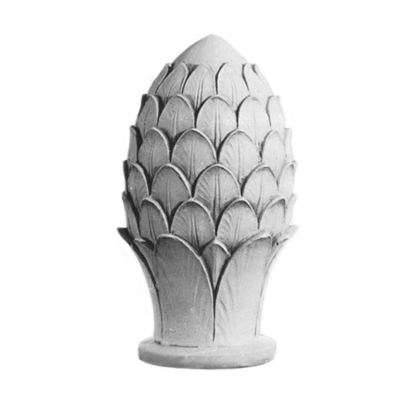Plaster Finial Pineapple Designs for Interior Installation - Brockwell Incorporated - Item # FNL-85172-PL-2