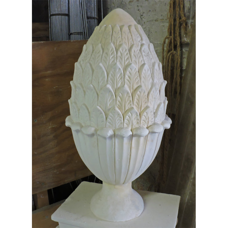 "9-1/2"" Diameter Plaster Pineapple Finial Design by Brockwell Incorporated"