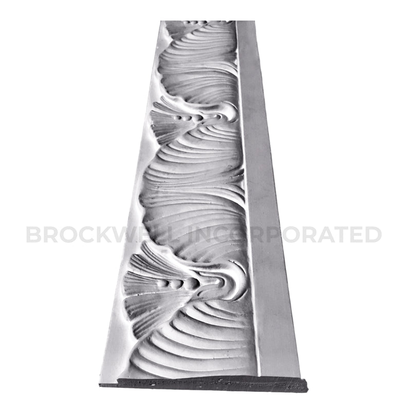 Profile of Brockwell Incorporated's Plaster Renaissance Frieze Molding Design