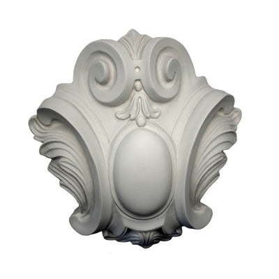 Purchase Decorative Plaster Shield Accents - Item # SHD-6453-PL-2 from Brockwell Incorporated