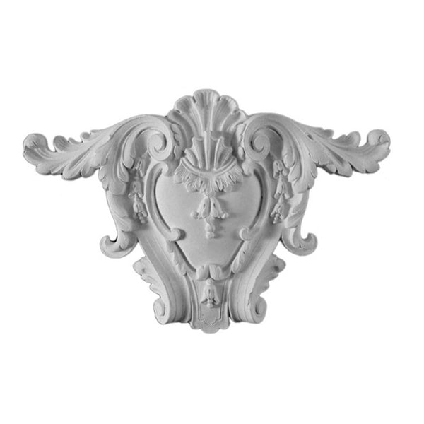Purchase Decorative Plaster Shield Accents - Item # SHD-8453-PL-2 from Brockwell Incorporated