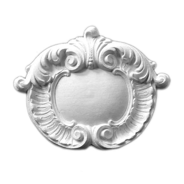 Purchase Decorative Plaster Shield Accents - Item # SHD-2553-PL-2 from Brockwell Incorporated