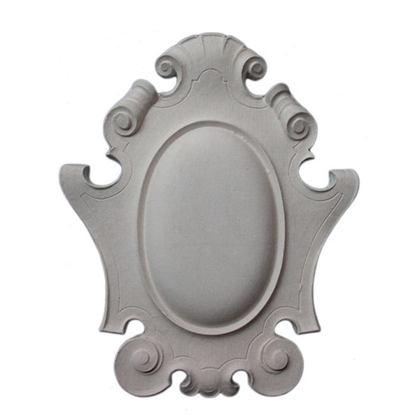 Purchase Decorative Plaster Shield Accents - Item # SHD-44172-PL-2 from Brockwell Incorporated