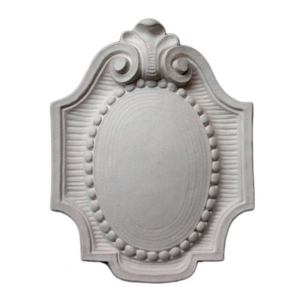 Purchase Decorative Plaster Shield Accents - Item # SHD-1453-PL-2 from Brockwell Incorporated