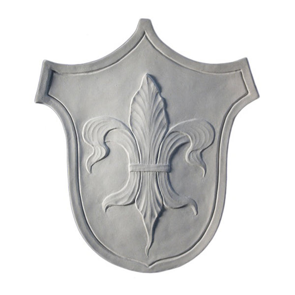 Purchase Decorative Plaster Shield Accents - Item # SHD-2453-PL-2 from Brockwell Incorporated