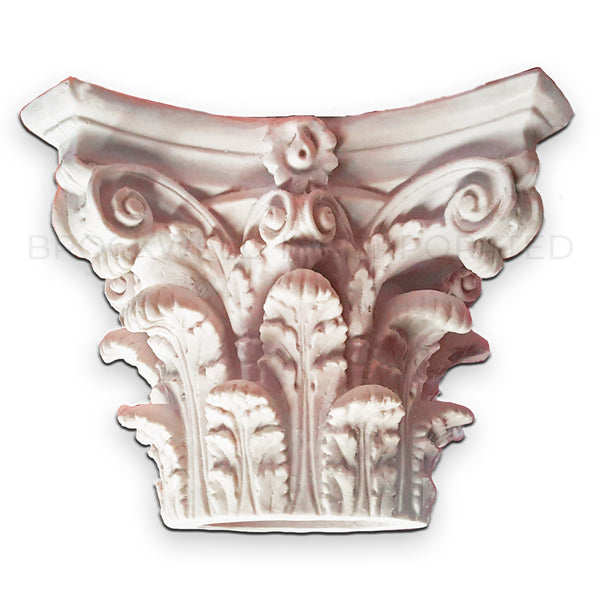 Cast Resin Round Roman Corinthian Column Capital
